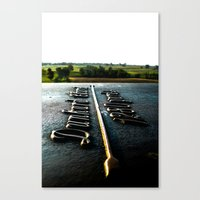 [1280 Yards] As The Bird… Canvas Print