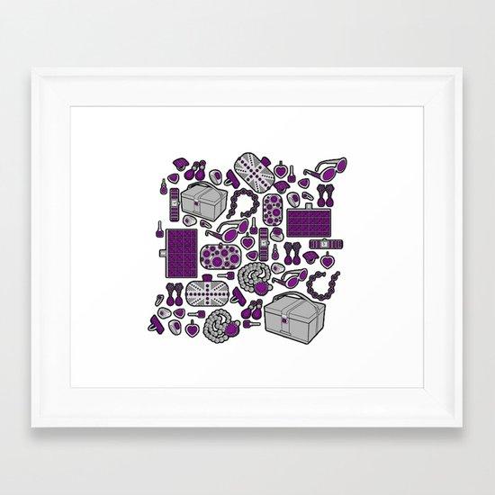 Accessories Framed Art Print