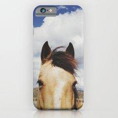 Cloudy Horse Head iPhone 6s Slim Case