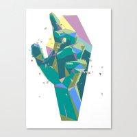 Break On Through To The … Canvas Print