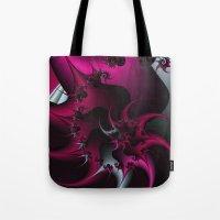 Pink Snail Tote Bag
