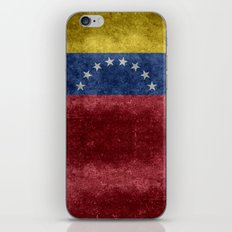 The national flag of the Bolivarian Republic of Venezuela -  Vintage version iPhone & iPod Skin