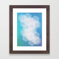 Shape series 5 Framed Art Print