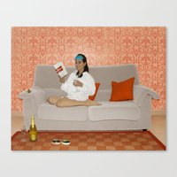 Holly, Breakfast at Tiffany's Canvas Print