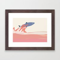 Splash! Framed Art Print