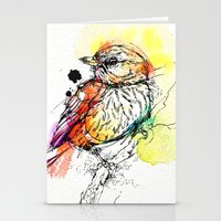Rufous Whistler Stationery Cards