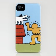 Keith Haring + Charles S… iPhone (4, 4s) Slim Case