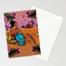 Tattoo Scorpio Stationery Cards