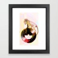 The Wheel Of Fortune  Framed Art Print
