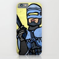 iPhone & iPod Case featuring RoboCop by Rat McDirtmouth