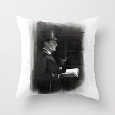 A Contemplative Pause Throw Pillow
