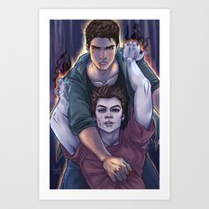 Possessed and Possession Art Print