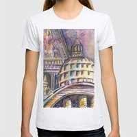 St. Marks Cathedral in Venice Womens Fitted Tee Ash Grey SMALL