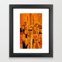 The Big Lebowski (varian… Framed Art Print