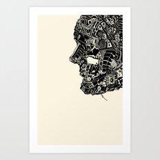 machine head Art Print