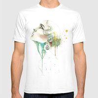 Into The Light Mens Fitted Tee White SMALL