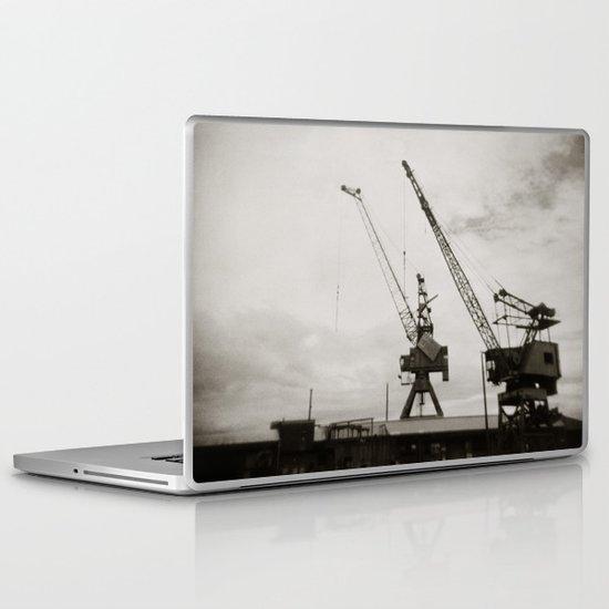{ dancing cranes } Laptop & iPad Skin