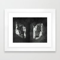 How the West was Lost Framed Art Print