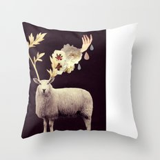 i find you hidden there Throw Pillow
