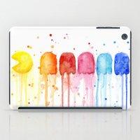 Retro Rainbow iPad Case