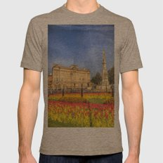 Buckingham Palace London Mens Fitted Tee Tri-Coffee SMALL