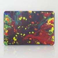 Abstract Drops. iPad Case