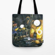 Moonbot #6: Yellow Tote Bag