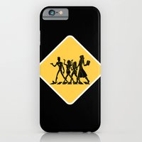 iPhone & iPod Case featuring Hollowmentary Crossing by empressfunk