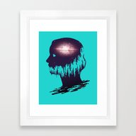 The World Forgetting By … Framed Art Print