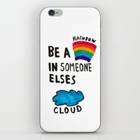Be a Rainbow iPhone & iPod Skin