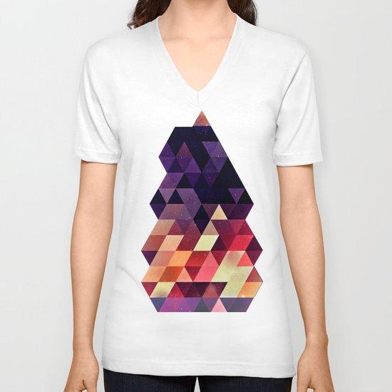 Th'tymplll V-neck T-shirt