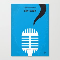 No505 My Cry-Baby minimal movie poster Canvas Print