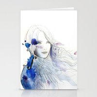 viola Stationery Cards