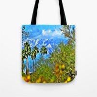Californian Landscape Tote Bag
