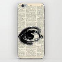 Vintage Eye iPhone & iPod Skin