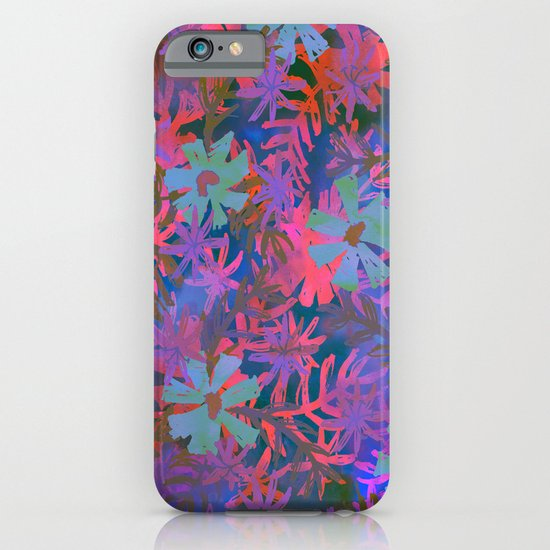 Jungle Fever Floral iPhone & iPod Case