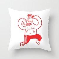 Hajer Boss Throw Pillow