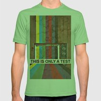 This Is Only A Test Mens Fitted Tee Grass SMALL