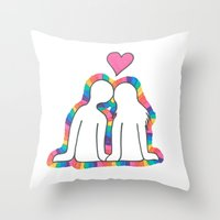 Valentines Day! Throw Pillow
