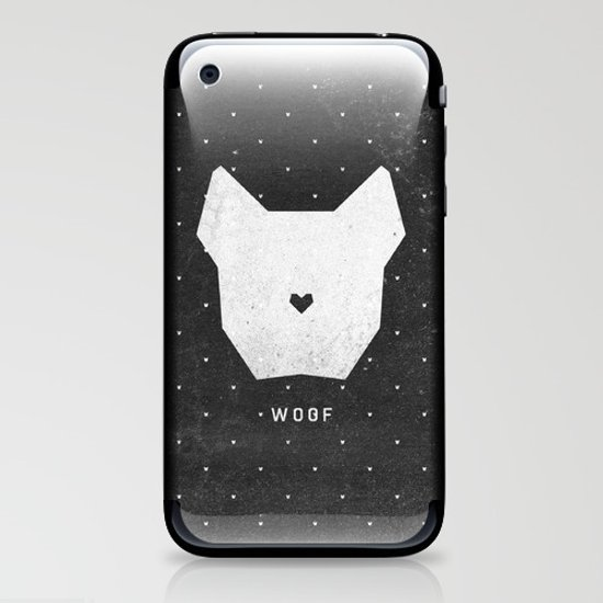 WOOF iPhone & iPod Skin