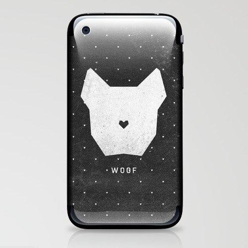 WOOF iPhone & iPod Skin