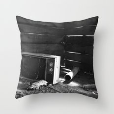 Kill Your TV Throw Pillow
