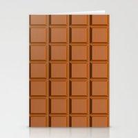 Chocolate Bar Stationery Cards