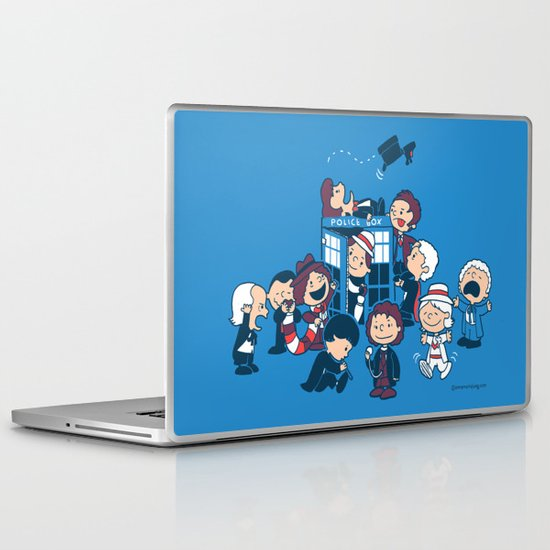 Who's Nuts? Laptop & iPad Skin
