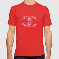 channel of roses Mens Fitted Tee Red SMALL