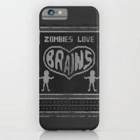 Zombie knitwear iPhone 6 Slim Case
