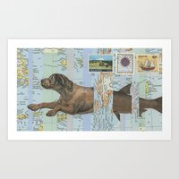 Legend of the Merdog Art Print