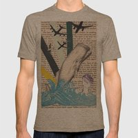 War Of The Worlds Mens Fitted Tee Tri-Coffee SMALL