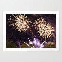 Fireworks #01 Art Print