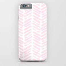 Handpainted Chevron pattern iPhone 6 Slim Case